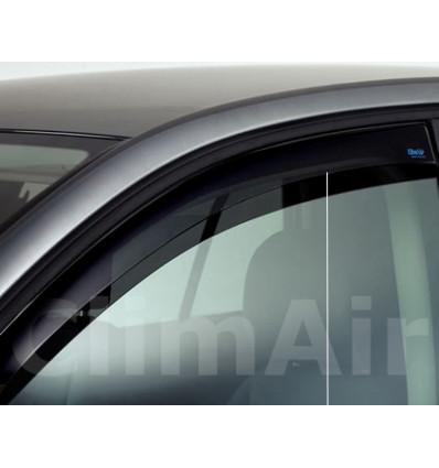 Дефлекторы боковых окон на Nissan Tida 3587