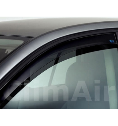 Дефлекторы боковых окон на Kia Rio 3752