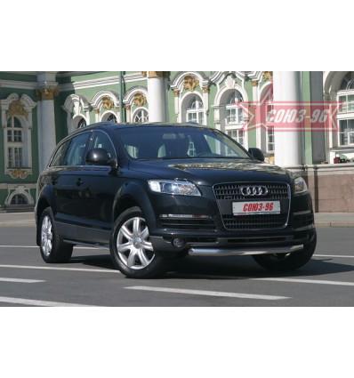 Защита переднего бампера на Audi Q7 AUDQ.48.0335