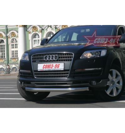 Защита переднего бампера на Audi Q7 AUDQ.48.0336
