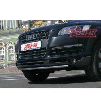 Защита переднего бампера на Audi Q7 AUDQ.48.0337
