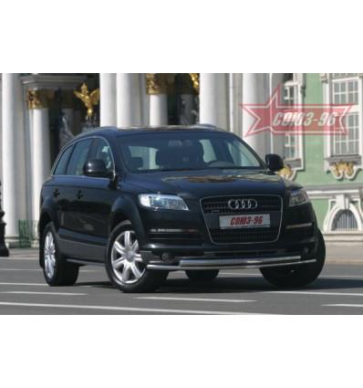 Защита переднего бампера на Audi Q7 AUDQ.48.0338