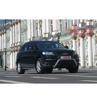 Решётка передняя мини на Audi Q7 AUDQ.56.0334