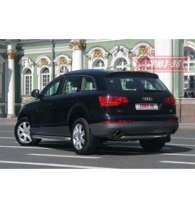 """Защита задняя """"труба"""" на Audi Q7 AUDQ.75.0343"""