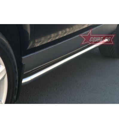 Пороги труба на Audi Q7 AUDQ.80.0340