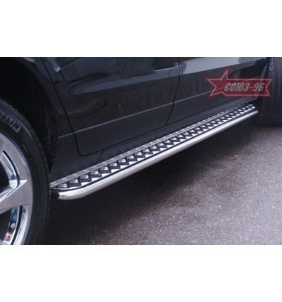 Пороги с листом Cadillac SRX CSRX.82.1357