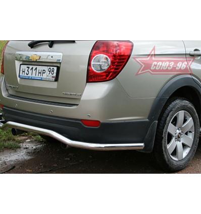"Защита задняя ""волна"" на Chevrolet Captiva CCAP.75.0496"