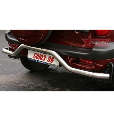 """Защита задняя """"волна"""" на Chevrolet Niva CN03.75.0005"""
