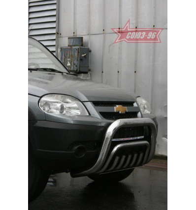 Решетка передняя мини на Chevrolet Niva CN09.56.0854