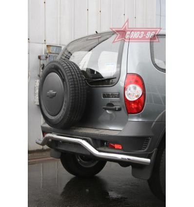 """Защита задняя """"волна"""" на Chevrolet Niva CN09.75.0852"""