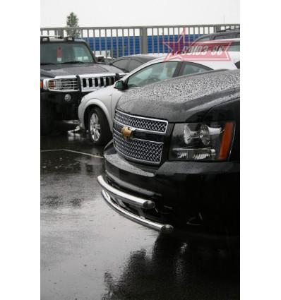 Защита переднего бампера на Chevrolet Tahoe CHTH.48.0708