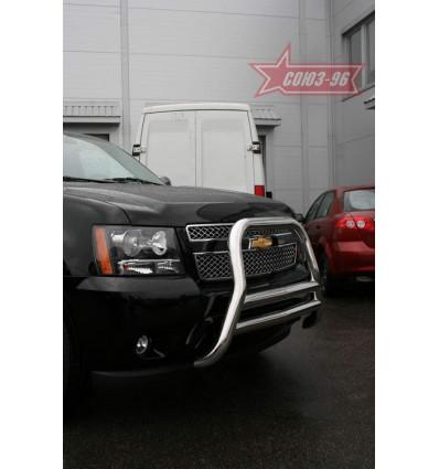 Решетка передняя мини на Chevrolet Tahoe CHTH.55.0705