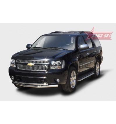 Защита переднего бампера на Chevrolet Tahoe CHTH.48.1412