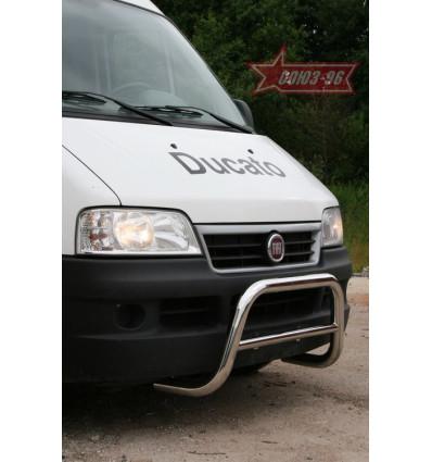 Решетка передняя мини на Fiat Ducato FIDU.56.0857