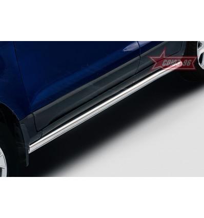Пороги труба на Ford EcoSport FECO.80.5151