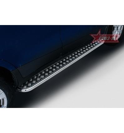Пороги с листом на Ford EcoSport FECO.82.5232