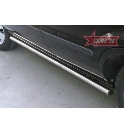 Пороги труба  на Ford Fusion FFUS.80.0220