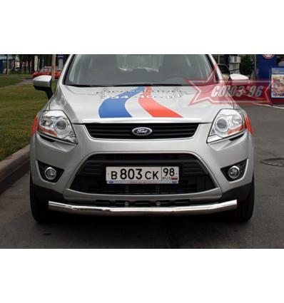 Защита переднего бампера на Ford Kuga FKUG.48.0671