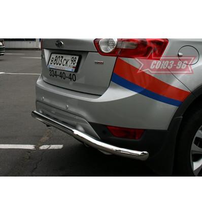 """Защита задняя """"волна"""" на Ford Kuga FKUG.75.0676"""