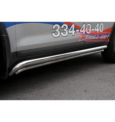 Пороги труба на Ford Kuga FKUG.80.0675