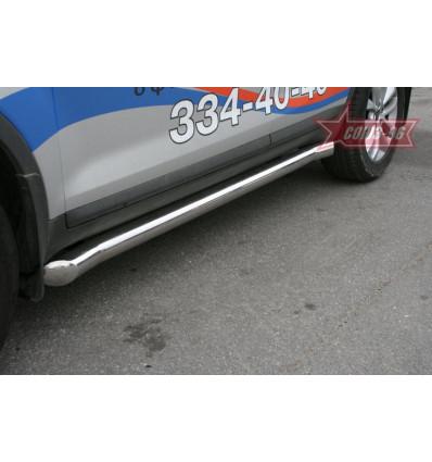 Пороги труба на Ford Kuga FKUG.80.1373