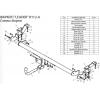 Фаркоп для Renault Kangoo R106-A