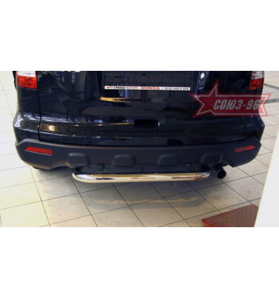 Защита заднего бампера на Honda CR-V HCRV.75.0428