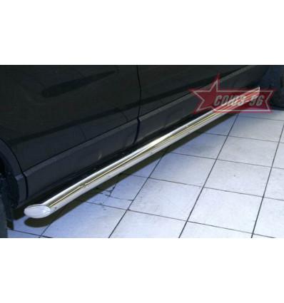 Пороги труба на Honda CR-V HCRV.80.0425