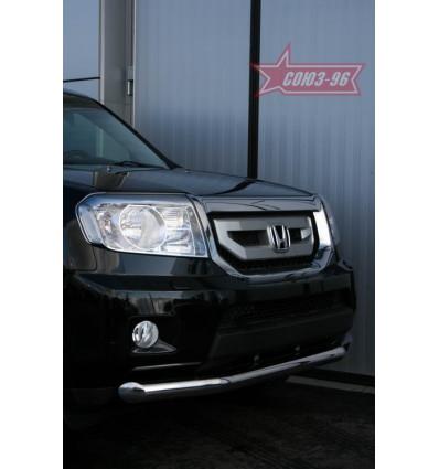 Защита переднего бампера труба на Honda Pilot HPIL.48.0717