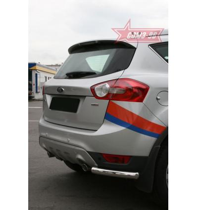 """Защита задняя """"уголки"""" на Ford Kuga FKUG.76.0677"""