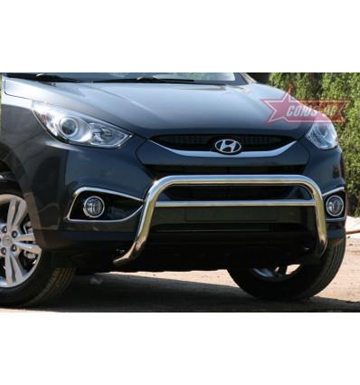 Решетка передняя мини на Hyundai ix35 HYIX.56.1056