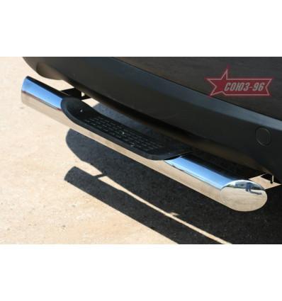 """Защита задняя """"ступенька"""" на Hyundai ix35 HYIX.75.1068"""