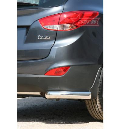 """Защита задняя """"уголки"""" на Hyundai ix35 HYIX.76.1067"""