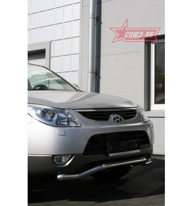 Защита переднего бампера труба на Hyundai ix55 HYIX.48.0899