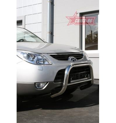 Решетка передняя мини на Hyundai ix55 HYIX.56.0898