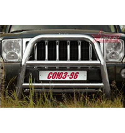 Решетка передняя мини на Jeep Commander JCOM.55.0350