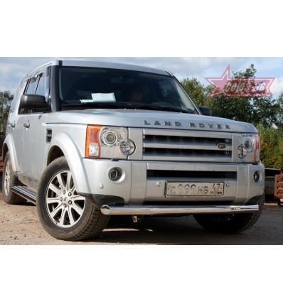 Защита переднего бампера труба на Land Rover Discovery III LRDV.48.0246