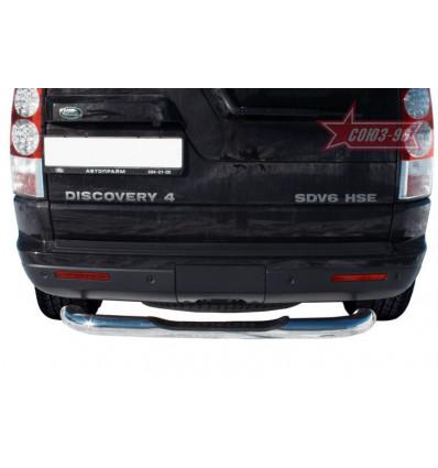 """Защита задняя """"ступень"""" на Land Rover Discovery IV LRDV.75.1249"""