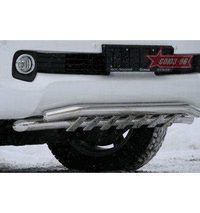 Защита переднего бампера на Lexus GX 460 GX46.48.1009