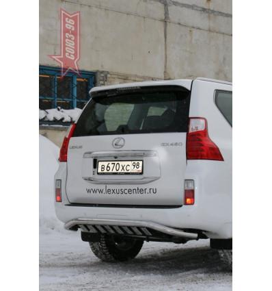 Защита задняя  на Lexus GX 460 GX46.75.1017