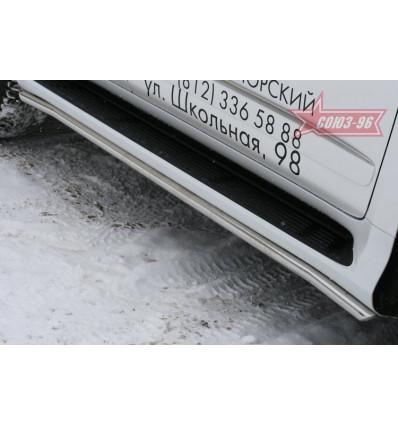 """Защита штатных порогов""""  на Lexus GX 460 GX46.86.1010"""
