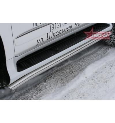 """Защита штатных порогов""""  на Lexus GX 460 GX46.86.1011"""