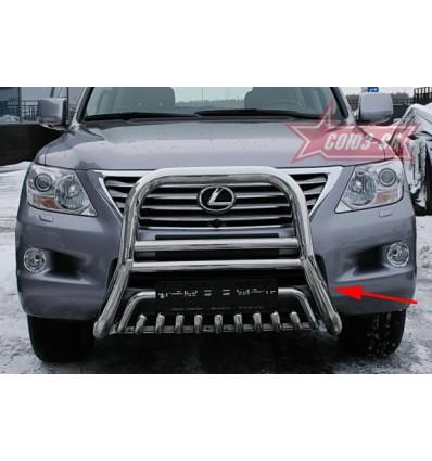 Решетка передняя мини на Lexus LX 570 LX57.55.0620