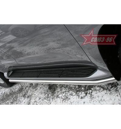 Защита штатных порогов на Lexus LX 570 LX57.86.0629