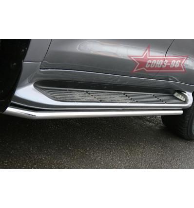 Защита штатных порогов на Lexus LX 570 LX57.86.0630
