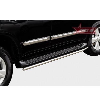 Защита штатного порога на Lexus LX 570 LX57.86.1481