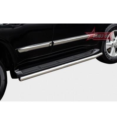 Защита штатного порога на Lexus LX 570 LX57.86.1482