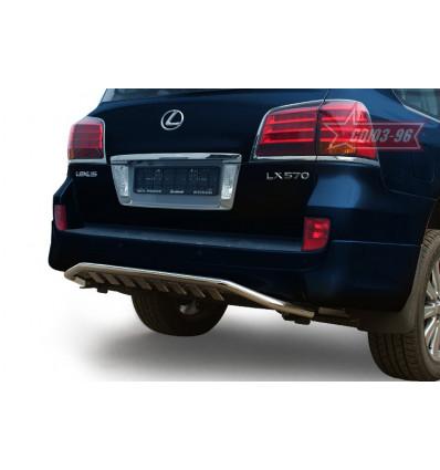 Защита задняя на Lexus LX 570 LX57.75.1286