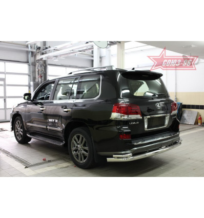 Защита задняя на Lexus LX 570 LX57.75.5015