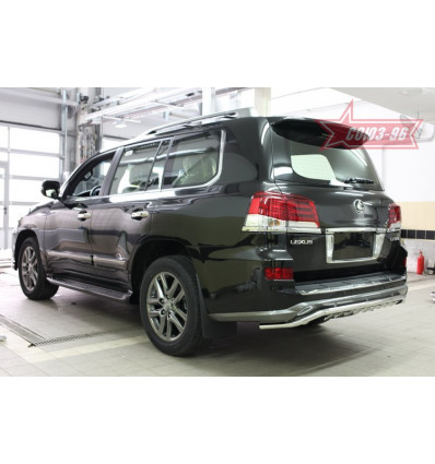 Защита задняя на Lexus LX 570 LX57.79.5020